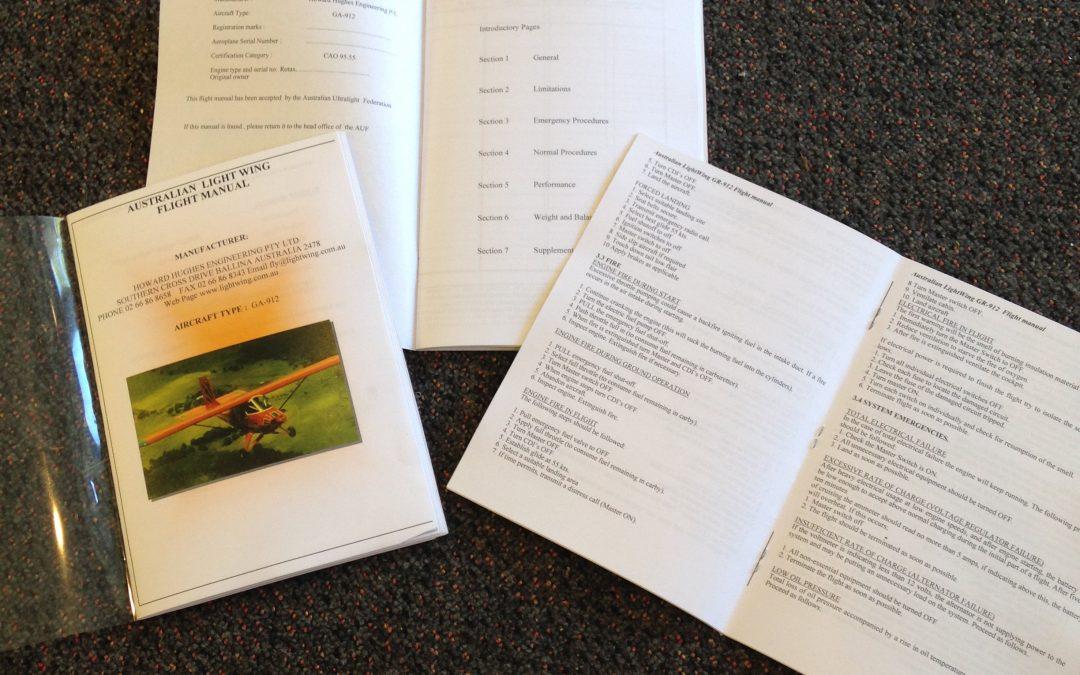 Aircraft Flight Manual – GA 912