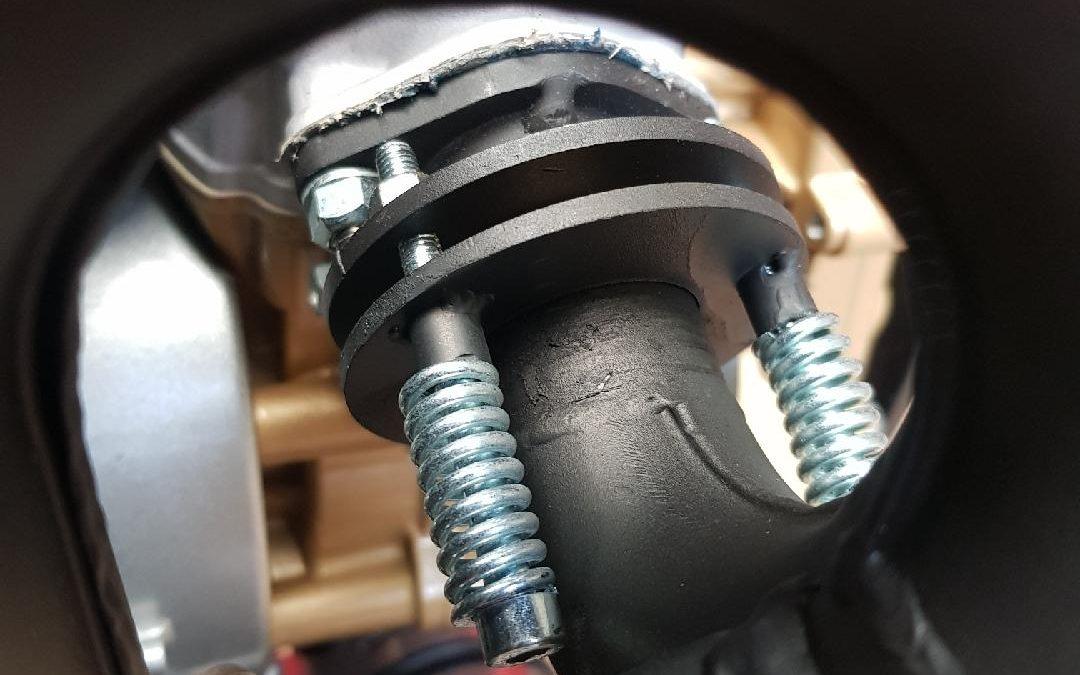 Para Motor Engine Exhaust