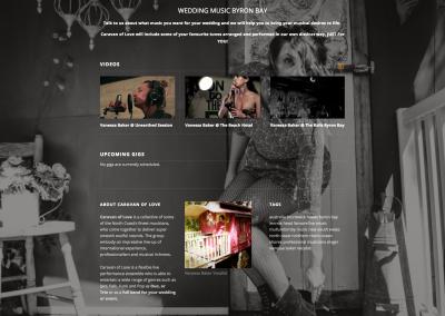 Hughes Engineering Web Design - Vanessa Baker Musician