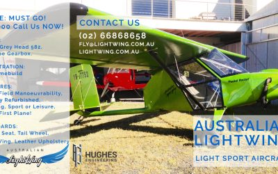 Australian LightWing Pocket Rocket Aircraft For Sale