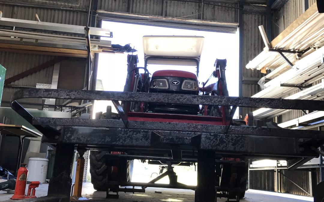 Tractor Forklift Hughes Engineering General Design and Engineering Services