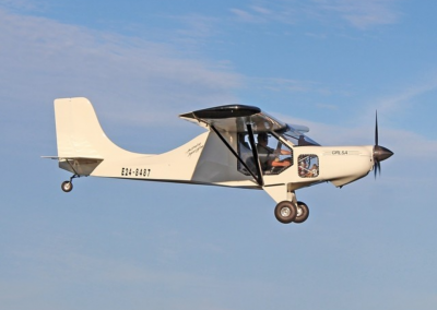 GR LSA Light Sport Aircraft in Flight