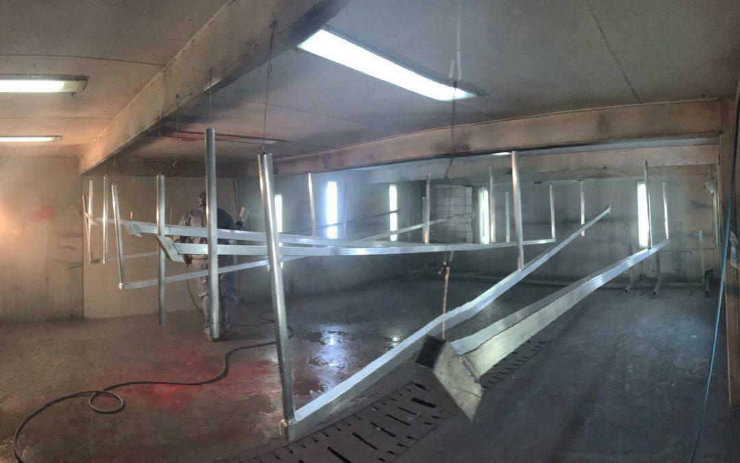 Industrial Paint Room Ballina NSW