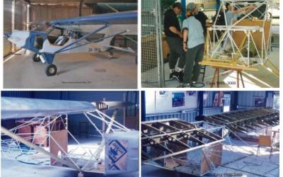 Homage to the Moruya High School LightWing Aircraft